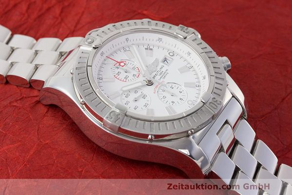 Used luxury watch Breitling Avenger chronograph steel automatic Kal. B13 ETA 7750 Ref. A13370  | 162607 17