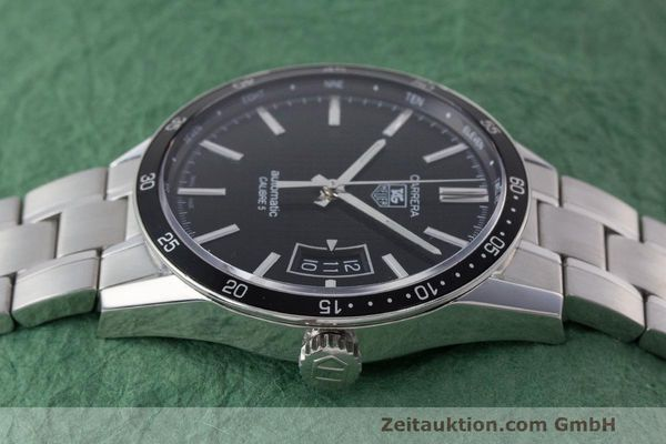 Used luxury watch Tag Heuer Carrera steel automatic Kal. 5 SW 200-1 Ref. WV211M-0  | 162612 05