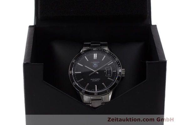 Used luxury watch Tag Heuer Carrera steel automatic Kal. 5 SW 200-1 Ref. WV211M-0  | 162612 07