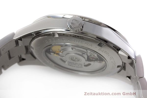 Used luxury watch Tag Heuer Carrera steel automatic Kal. 5 SW 200-1 Ref. WV211M-0  | 162612 11