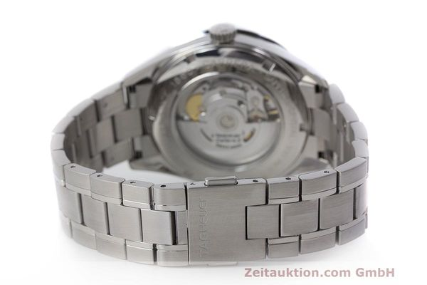 Used luxury watch Tag Heuer Carrera steel automatic Kal. 5 SW 200-1 Ref. WV211M-0  | 162612 12