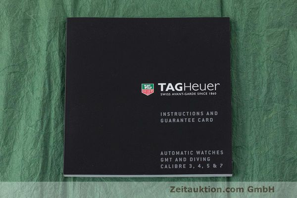 Used luxury watch Tag Heuer Carrera steel automatic Kal. 5 SW 200-1 Ref. WV211M-0  | 162612 14