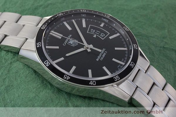 Used luxury watch Tag Heuer Carrera steel automatic Kal. 5 SW 200-1 Ref. WV211M-0  | 162612 16