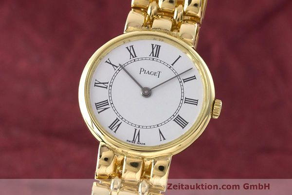 PIAGET 18 CT GOLD QUARTZ KAL. 8P2 [162618]