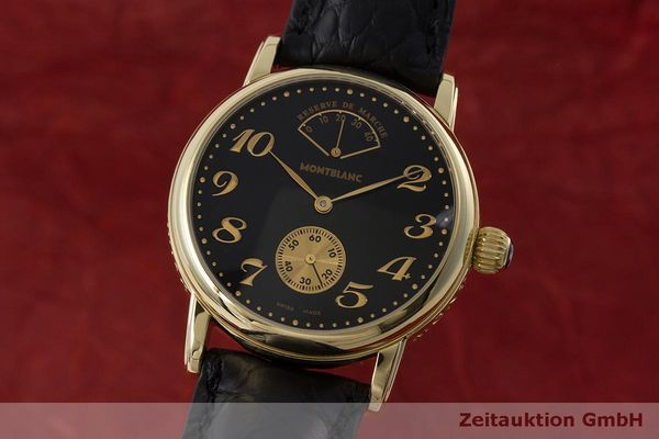 MONTBLANC MEISTERSTÜCK 18 CT GOLD MANUAL WINDING KAL. 4810901 ETA 7001 LP: 6050EUR [162619]