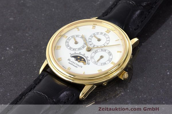 Used luxury watch Blancpain Villeret 18 ct gold automatic Kal. 95  | 162621 01