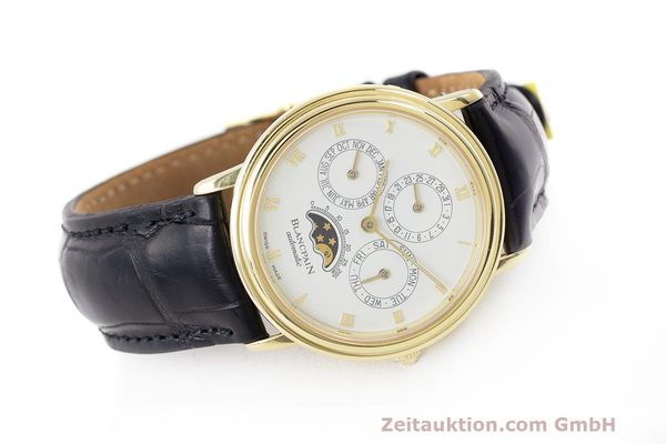 Used luxury watch Blancpain Villeret 18 ct gold automatic Kal. 95  | 162621 03