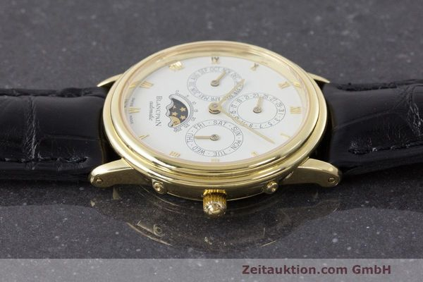 Used luxury watch Blancpain Villeret 18 ct gold automatic Kal. 95  | 162621 05