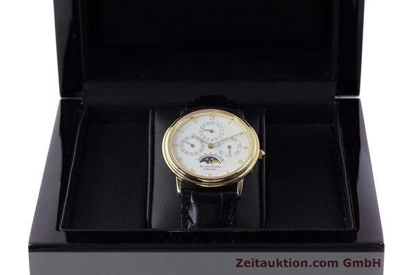 Used luxury watch Blancpain Villeret 18 ct gold automatic Kal. 95  | 162621 07