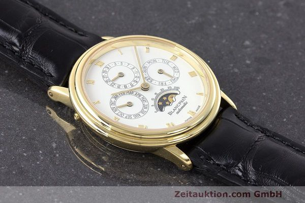 Used luxury watch Blancpain Villeret 18 ct gold automatic Kal. 95  | 162621 15
