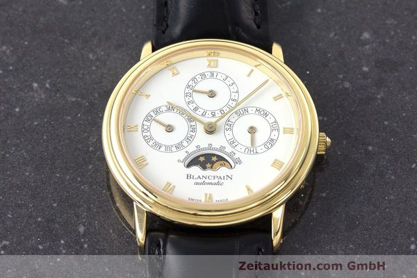 Used luxury watch Blancpain Villeret 18 ct gold automatic Kal. 95  | 162621 16