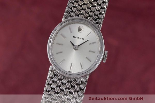 ROLEX 18 CT WHITE GOLD MANUAL WINDING KAL. 1400 LP: 15420EUR VINTAGE [162624]
