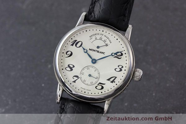 MONTBLANC MEISTERSTÜCK STEEL MANUAL WINDING KAL. 4810901 ETA 7001 LP: 3290EUR [162626]