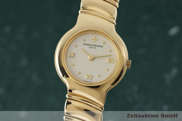 VACHERON & CONSTANTIN 18 CT GOLD QUARTZ KAL. 1129 281.002 LP: 13500EUR [162628]