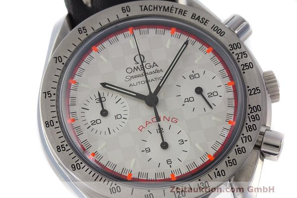 Used luxury watch Omega Speedmaster chronograph steel automatic Kal. 3220A LIMITED EDITION | 162631 02