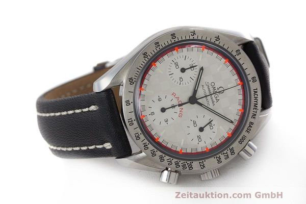 Used luxury watch Omega Speedmaster chronograph steel automatic Kal. 3220A LIMITED EDITION | 162631 03