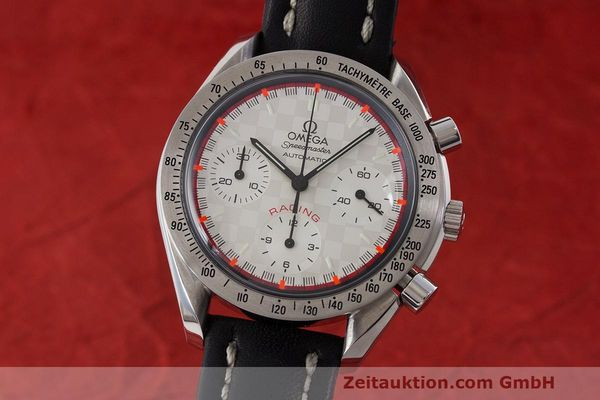 Used luxury watch Omega Speedmaster chronograph steel automatic Kal. 3220A LIMITED EDITION | 162631 04