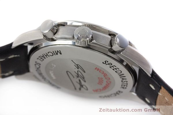 Used luxury watch Omega Speedmaster chronograph steel automatic Kal. 3220A LIMITED EDITION | 162631 11