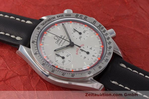 Used luxury watch Omega Speedmaster chronograph steel automatic Kal. 3220A LIMITED EDITION | 162631 13