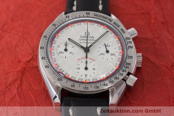 Used luxury watch Omega Speedmaster chronograph steel automatic Kal. 3220A LIMITED EDITION | 162631 14