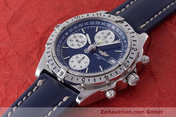 Used luxury watch Breitling Longitude chronograph steel automatic Kal. B.1 ETA 7750 Ref. A20048  | 162635 01