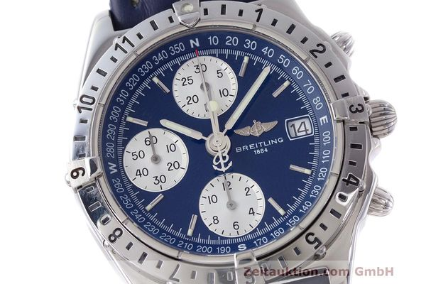 Used luxury watch Breitling Longitude chronograph steel automatic Kal. B.1 ETA 7750 Ref. A20048  | 162635 02
