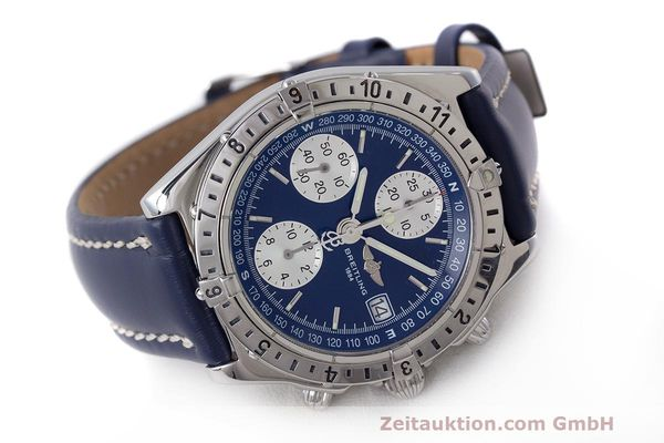 Used luxury watch Breitling Longitude chronograph steel automatic Kal. B.1 ETA 7750 Ref. A20048  | 162635 03