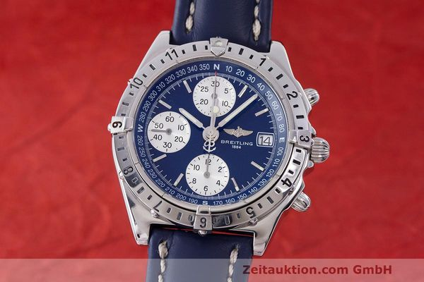 Used luxury watch Breitling Longitude chronograph steel automatic Kal. B.1 ETA 7750 Ref. A20048  | 162635 04