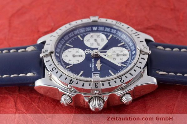 Used luxury watch Breitling Longitude chronograph steel automatic Kal. B.1 ETA 7750 Ref. A20048  | 162635 05