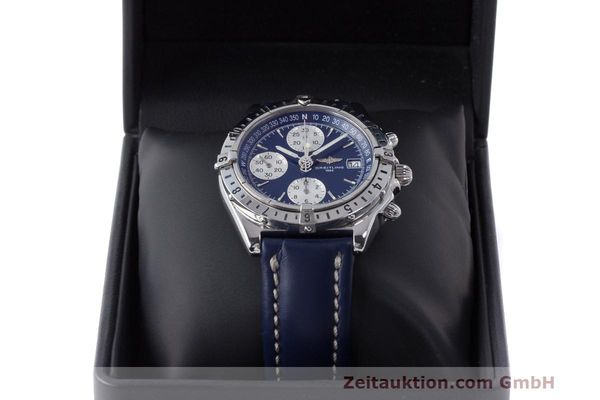 Used luxury watch Breitling Longitude chronograph steel automatic Kal. B.1 ETA 7750 Ref. A20048  | 162635 07
