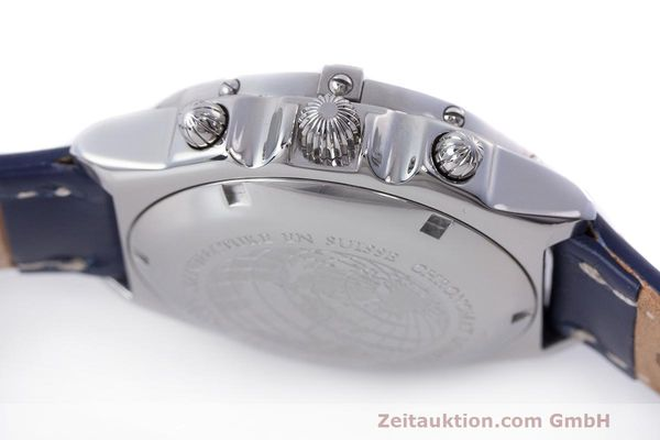 Used luxury watch Breitling Longitude chronograph steel automatic Kal. B.1 ETA 7750 Ref. A20048  | 162635 08