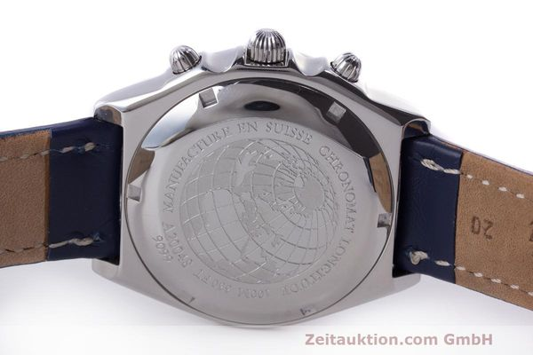 Used luxury watch Breitling Longitude chronograph steel automatic Kal. B.1 ETA 7750 Ref. A20048  | 162635 09