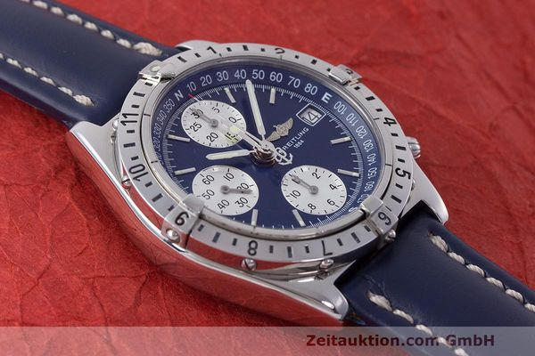 Used luxury watch Breitling Longitude chronograph steel automatic Kal. B.1 ETA 7750 Ref. A20048  | 162635 13