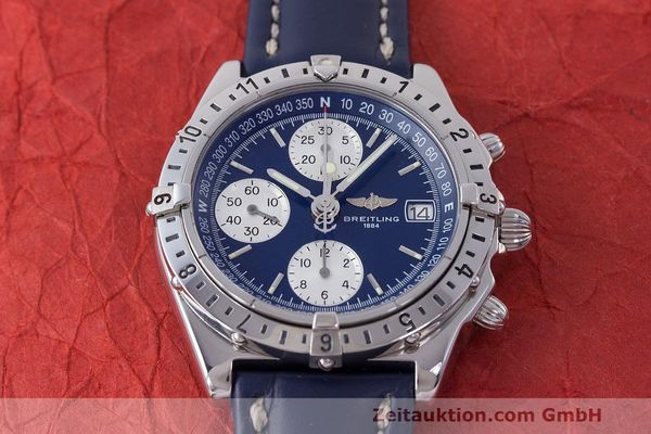 Used luxury watch Breitling Longitude chronograph steel automatic Kal. B.1 ETA 7750 Ref. A20048  | 162635 14