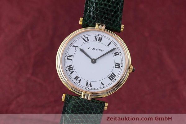 CARTIER ORO 18 CT QUARZO KAL. 81 [162640]