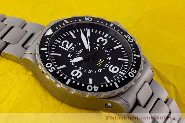 Used luxury watch Sinn 857 UTC steel automatic Ref. 857.4270  | 162651 15