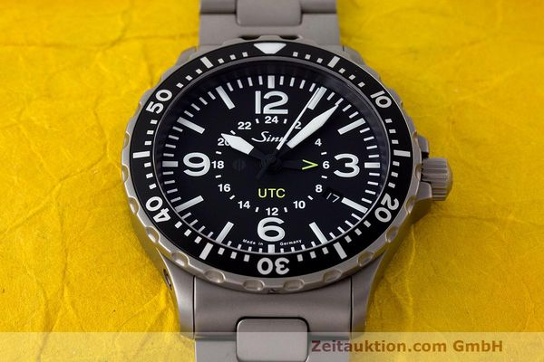 Used luxury watch Sinn 857 UTC steel automatic Ref. 857.4270  | 162651 16