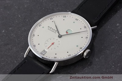 NOMOS METRO STEEL MANUAL WINDING KAL. DUW 4401 LP: 2880EUR [162655]
