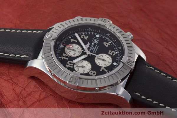 Used luxury watch Breitling Avenger chronograph steel automatic Kal. B13 ETA 7750 Ref. A13370  | 162658 14