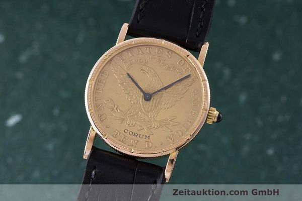CORUM 10 DOLLAR ORO DE 18 QUILATES CUERDA MANUAL [162672]