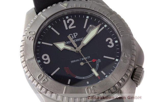 Used luxury watch Girard Perregaux Sea Hawk II titanium automatic Kal. 330 Ref. 4990  | 162673 02