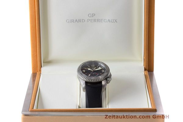 Used luxury watch Girard Perregaux Sea Hawk II titanium automatic Kal. 330 Ref. 4990  | 162673 07