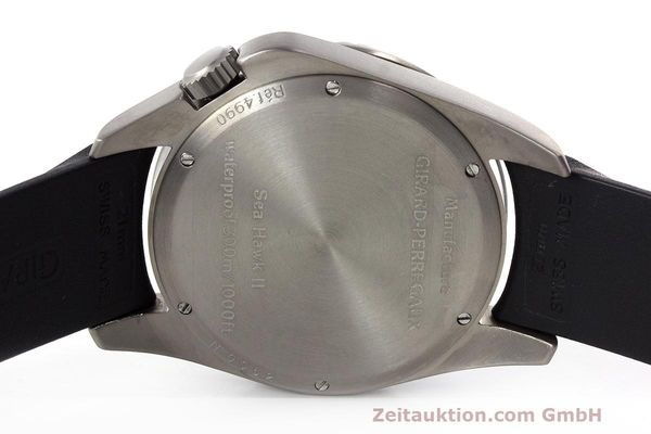 Used luxury watch Girard Perregaux Sea Hawk II titanium automatic Kal. 330 Ref. 4990  | 162673 09