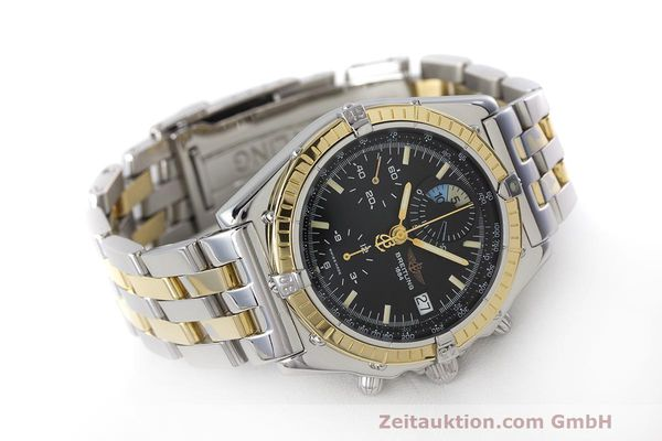 Used luxury watch Breitling Chronomat chronograph steel / gold automatic Kal. B13 ETA 7750 Ref. D13048  | 162674 03