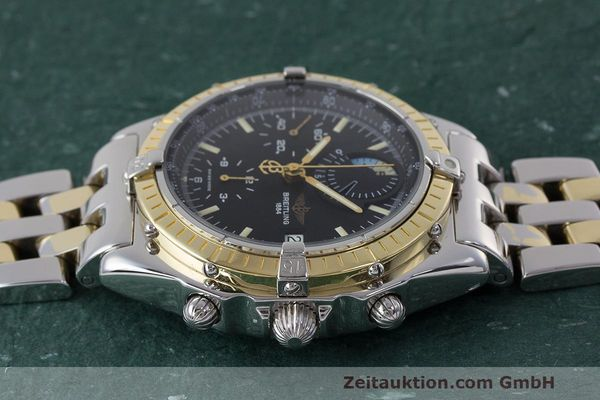 Used luxury watch Breitling Chronomat chronograph steel / gold automatic Kal. B13 ETA 7750 Ref. D13048  | 162674 05