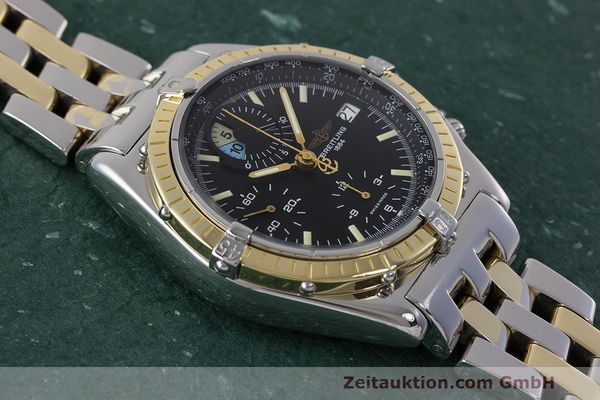 Used luxury watch Breitling Chronomat chronograph steel / gold automatic Kal. B13 ETA 7750 Ref. D13048  | 162674 16
