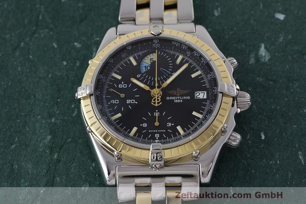 Used luxury watch Breitling Chronomat chronograph steel / gold automatic Kal. B13 ETA 7750 Ref. D13048  | 162674 17