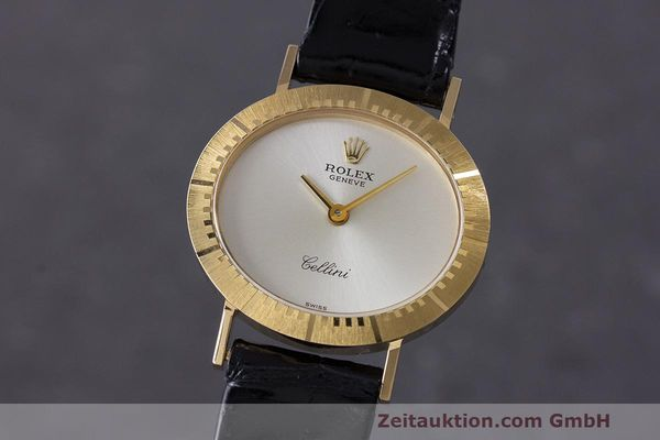 ROLEX CELLINI 18 CT GOLD MANUAL WINDING KAL. 1601 LP: 4300EUR [162681]