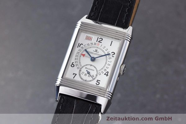 JAEGER LE COULTRE REVERSO STEEL MANUAL WINDING KAL. 836 LP: 7000EUR [162694]