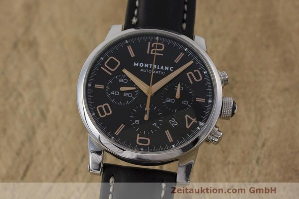 MONTBLANC TIMEWALKER CHRONOGRAPH STEEL AUTOMATIC KAL. 4810502 LP: 4590EUR [162696]